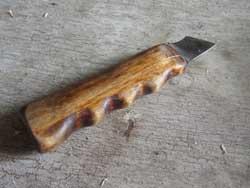 Нож-косяк. Технологии обработки бересты. Инструмент
